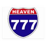 """Cielo """"de un estado a otro"""" 777 postales"""