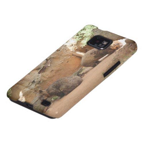 Cielo de Wombat Samsung Galaxy S2 Fundas