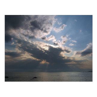 Cielo de Yokosuka Postal