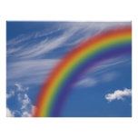 Cielo del arco iris impresiones