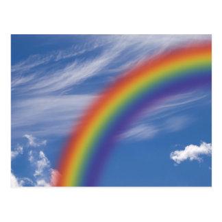 Cielo del arco iris postales