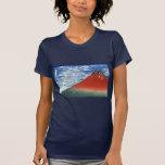 Cielo del claro del viento del sur, Fuji rojo, Camiseta
