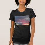 Cielo del desierto de la tarde camiseta