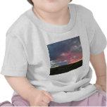 Cielo del desierto de la tarde camisetas