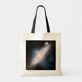 Cielo del espacio de la impresión de la galaxia de bolsa tela barata