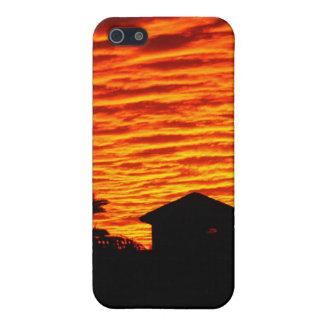 Cielo del fuego iPhone 5 cobertura
