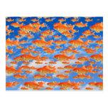 Cielo del Goldfish Tarjeta Postal