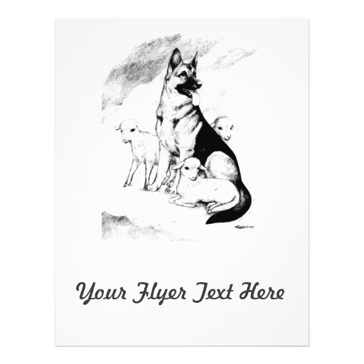 Cielo del perro tarjetas informativas