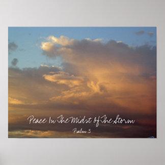 Cielo del salmo 3 poster