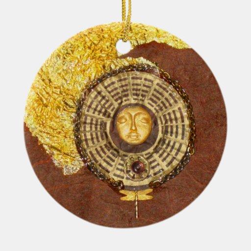 Cielo del solsticio - collage adornos de navidad