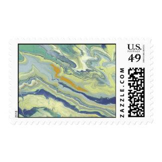 Cielo del verano - franqueo sello