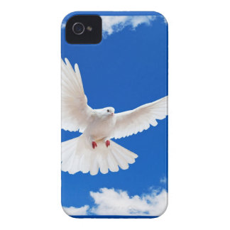 Cielo del vuelo del amor de la paz del pájaro de l iPhone 4 Case-Mate cárcasas