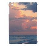 Cielo Destin de la puesta del sol de la playa