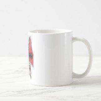 Cielo e infierno taza básica blanca