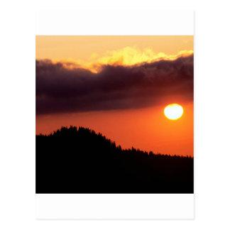 Cielo el frente caliente Oregon Tarjetas Postales
