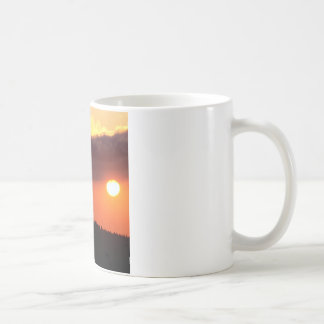 Cielo el frente caliente Oregon Taza De Café