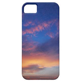 Cielo en la puesta del sol iPhone 5 fundas