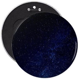 Cielo estrellado azul pin redondo 15 cm