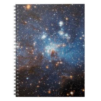 Cielo estrellado libreta espiral