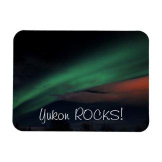 Cielo estrellado de la aurora boreal; Recuerdo del Iman De Vinilo