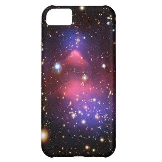 Cielo estrellado de la galaxia de las estrellas de carcasa para iPhone 5C