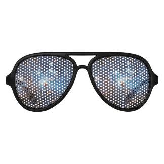 Cielo estrellado lentes de fiesta