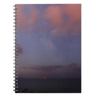 Cielo estrellado libro de apuntes