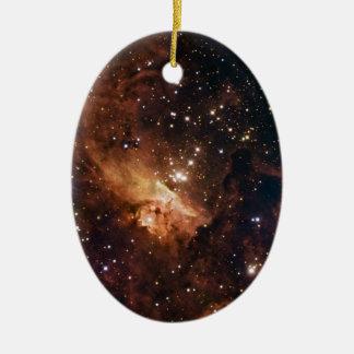 Cielo estrellado marrón de Pismis 24 Ornamento Para Reyes Magos