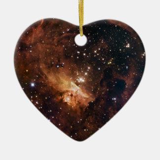 Cielo estrellado marrón de Pismis 24 Ornamentos De Navidad