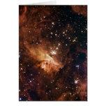 Cielo estrellado marrón de Pismis 24 Tarjetas