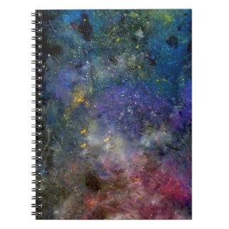 Cielo estrellado - Orión o cosmos de la vía láctea Libretas