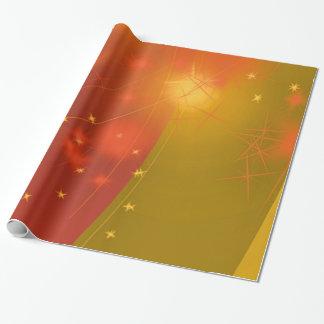 Cielo estrellado papel de regalo