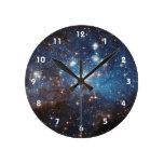 Cielo estrellado relojes de pared