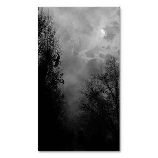 Cielo frecuentado de la Luna Llena con la tarjeta