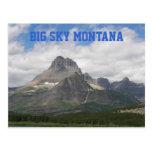 Cielo grande Montana Postal