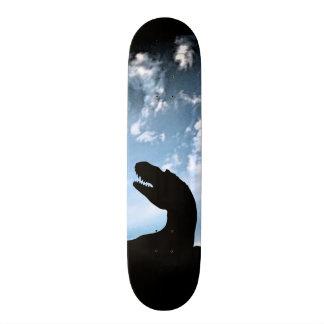 Cielo jurásico tablas de patinar