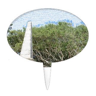cielo la Florida de los árboles del paisaje del Figuras Para Tartas