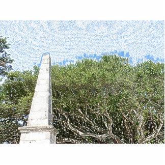 cielo la Florida de los árboles del paisaje del Escultura Fotográfica