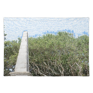 cielo la Florida de los árboles del paisaje del Mantel