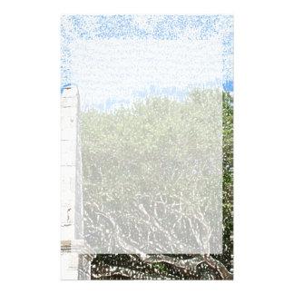 cielo la Florida de los árboles del paisaje del Papeleria Personalizada