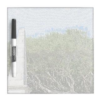 cielo la Florida de los árboles del paisaje del Pizarras Blancas De Calidad