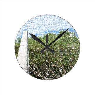 cielo la Florida de los árboles del paisaje del Reloj