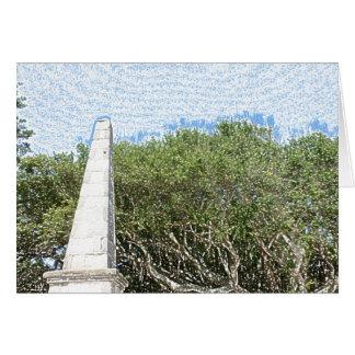 cielo la Florida de los árboles del paisaje del Tarjeta Pequeña