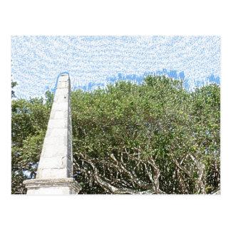 cielo la Florida de los árboles del paisaje del Postal