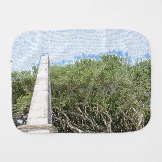 cielo la Florida de los árboles del paisaje del Paños De Bebé