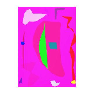 Cielo libre del claro del mandarín del párpado de  impresiones de lienzo