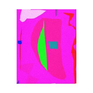 Cielo libre del claro del mandarín del párpado de  lienzo envuelto para galerias