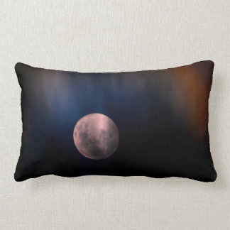 Cielo lunar lleno colorido del arco iris de la almohadas
