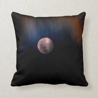 Cielo lunar lleno colorido del arco iris de la cojin