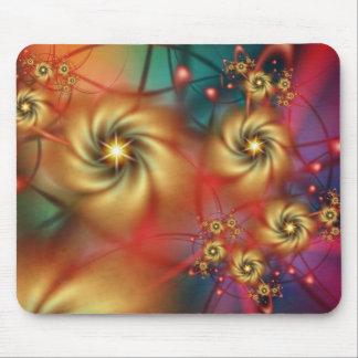 ¡Cielo Mousepad del Hippie - muestre sus colores v Tapetes De Raton